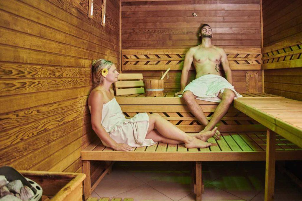 Finská sauna Cheb komorní Hůrka